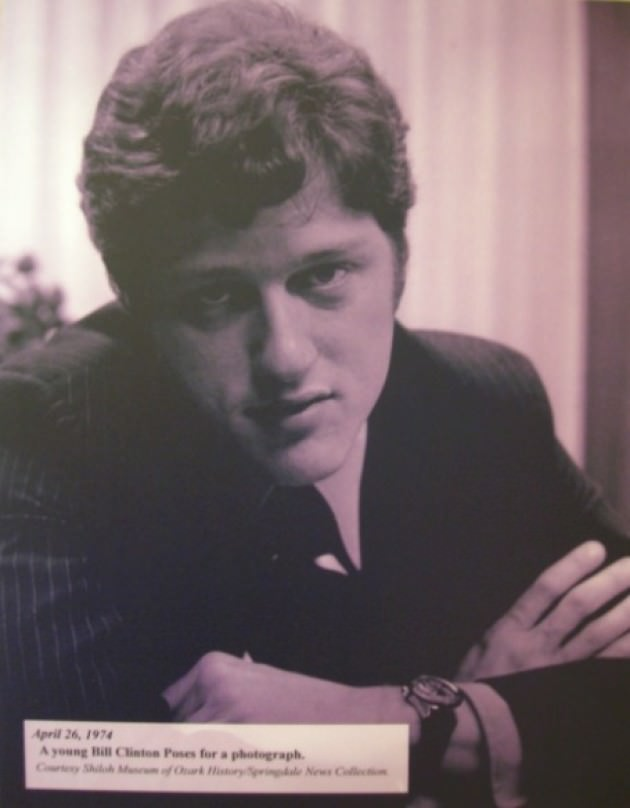 Bill Clinton Young