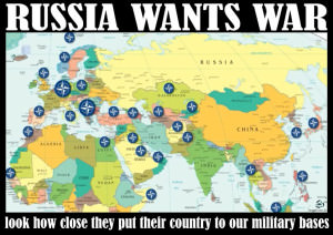 Russia wants war NATO