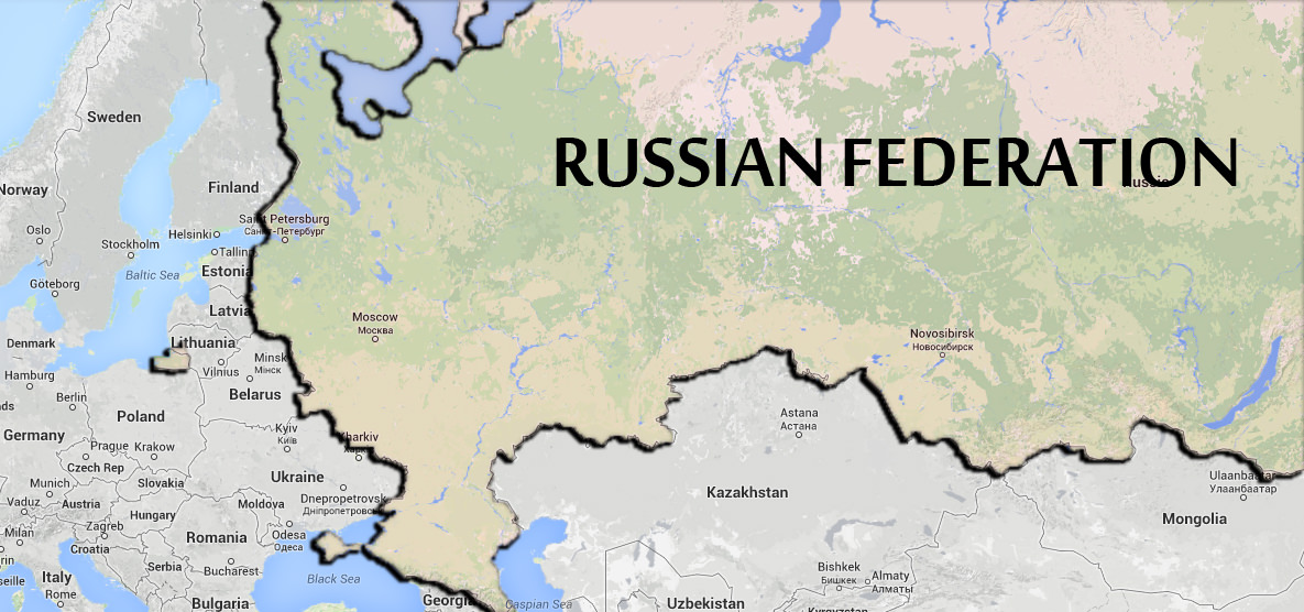 New Russian Map